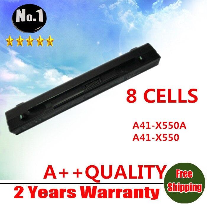 Prix pour En gros Nouveau 8 cellules batterie D'ordinateur Portable Pour ASUS A450 A550 F450 F552 P450 X450 X550 A41-X550 A41-X550A livraison gratuite