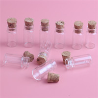 Free Shipping 100 Lot 1ML Amber Glass Bottles 1CC Clear Mini Small Sample Vials Essential Oil