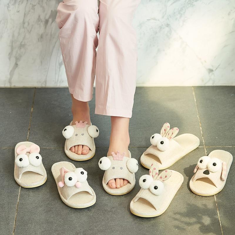 Indoor Slippers Home-Shoes Anti-Slip Bathroom Cartoon Children Fashion Cute And Summer