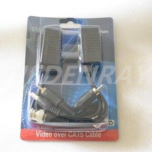 Image 3 - 10 יחידות (5 זוג) וידאו Balun HDCVI/HDTVI/AHD CCTV משדר BNC UTP RJ45 וידאו, כוח מעל CAT5/5E/6 כבל עבור מצלמה