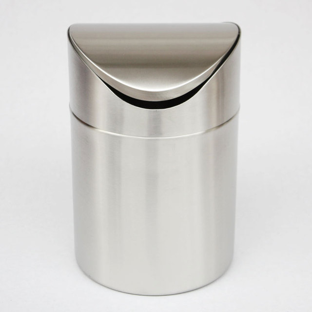 Waste Bins Mini Trash Can For Desk With Can Small Tiny Countertop