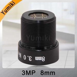 Image 4 - Yumiki 3.0 Megpixel M12 MTV 8 mét 3MP HD CCTV Ống Kính Máy Ảnh IR HD An Ninh Máy Ảnh Ống Kính Cố Định Iris