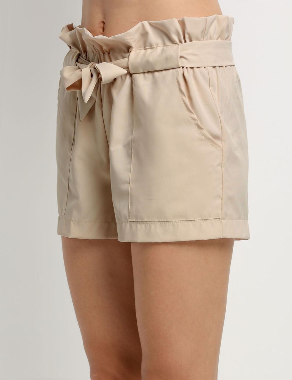 HTB1r 7hNFXXXXc.apXXq6xXFXXXj - High Waist Shorts Loose Shorts With Belt Woman PTC 59