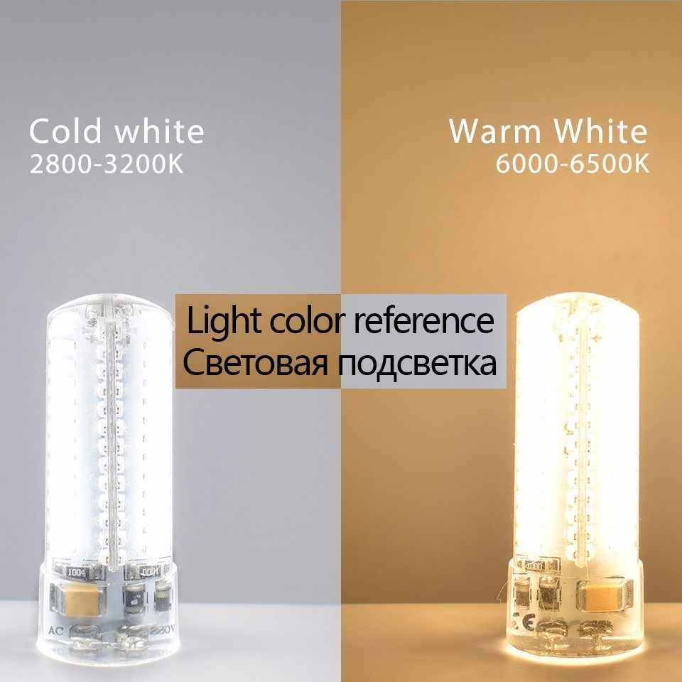 Ampoule de maïs LKLTFX AC/DC 12V G4 lampe à LED COB 0705 1505 AC220V/230 V SMD 3014 G4 lumière LED projecteur d'angle de faisceau de 360 degrés