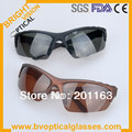 055 men's UV400 star sunglasses polarized  with metal frame and temple and TAC lens sunshade