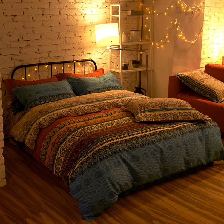 Online Buy Wholesale bohemian duvet covers from China ...