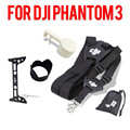 4pcs/set DJI Phantom 3 Accessories COMBO Camera Lens Cover +Sun Hood Cover+Remote Control Neck Strap Belt+Gimbal protect plate