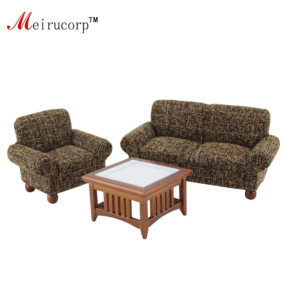 cool 12 scale dollhouse living room set | 1/12 scale dollhouse miniature High quality living room ...