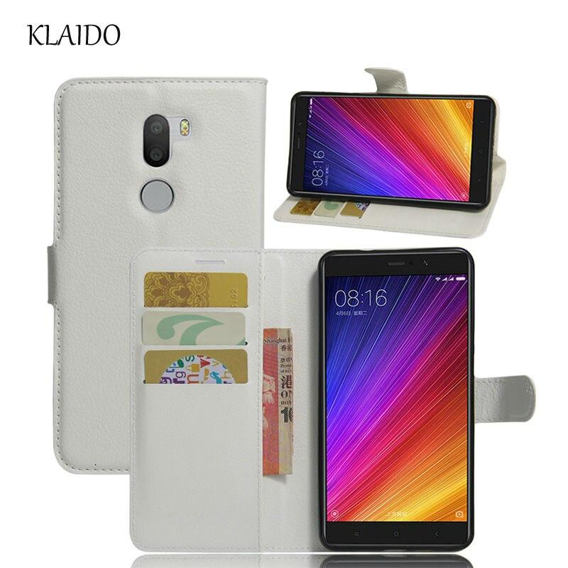 Cajas del teléfono cubierta de cuero para xiaomi m5s 5S mi5s klaido redmi 4a plu