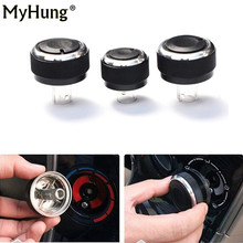 цена на  3PCS  for volkswagen VW Passat B5 GOLF 4 Bora Aluminum Alloy Air Conditioning Knob AC Knob Heat Control Button Auto Accessories