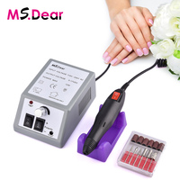 Professional Manicure Electric Grinding Machine 20000RPM Electric Nail Art Drill Nail Tools Rotation Rate Adjustable