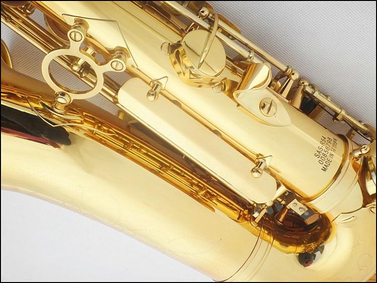 Hot SALE France flat sax alto saxophone R54 Alto E Flat musical instruments professional E free shipping france henri selmer saxophone alto 802 musical instrument alto sax gold curved saxfone mouthpiece electrophoresis
