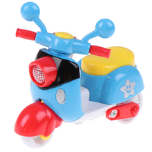 Motorcycle-Toy Pull-Back Cute Educational-Toys Plastic Kids Children Mini for Diecast