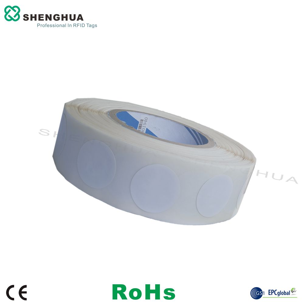 1000pcs/pack Iso15693 14443a Passive Nfc Rfid Tags Stickers Round Dia30mm Hf Passive Label
