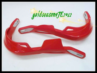 RED HAND GUARDs Hand guard for HONDA Yamaha Suzuki KAWASAKI Dirt Bike MOTOCROSS MX ATV