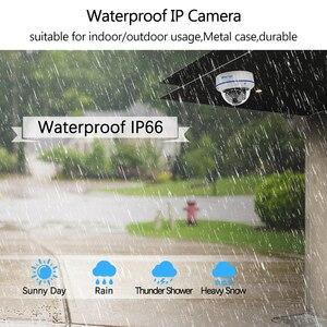 Image 4 - Techage H.265 الأمن POE كاميرا IP 2MP فاندالبور داخلي قبة كاميرا تلفزيونات الدوائر المغلقة ميكروفون P2P المراقبة بالفيديو ONVIF 48 فولت PoE