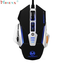 3200 DPI 8D Buttons LED Mechanical Wired Gaming Mouse For PC Laptop Top Quality Drop Shipping Nov1 computer accessories