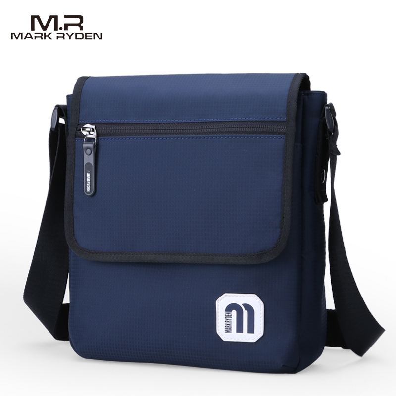 New Arrivals Mark Ryden Casual Messenger Bags Waterproof Flap Pocket Men s Crossbody Bag Single Strap