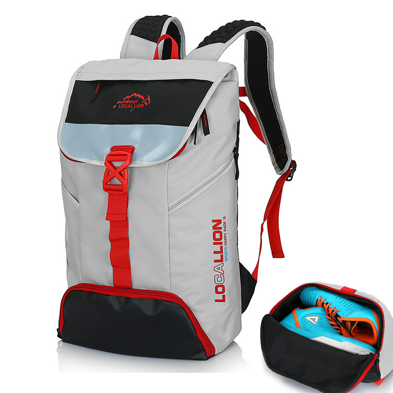 24c38e020a4 GYKZ Men Anti-theft Travel Backpack Outdoor Gym Bag with Independent Shoes  Pocket Waterproof Men Sport Laptop ...