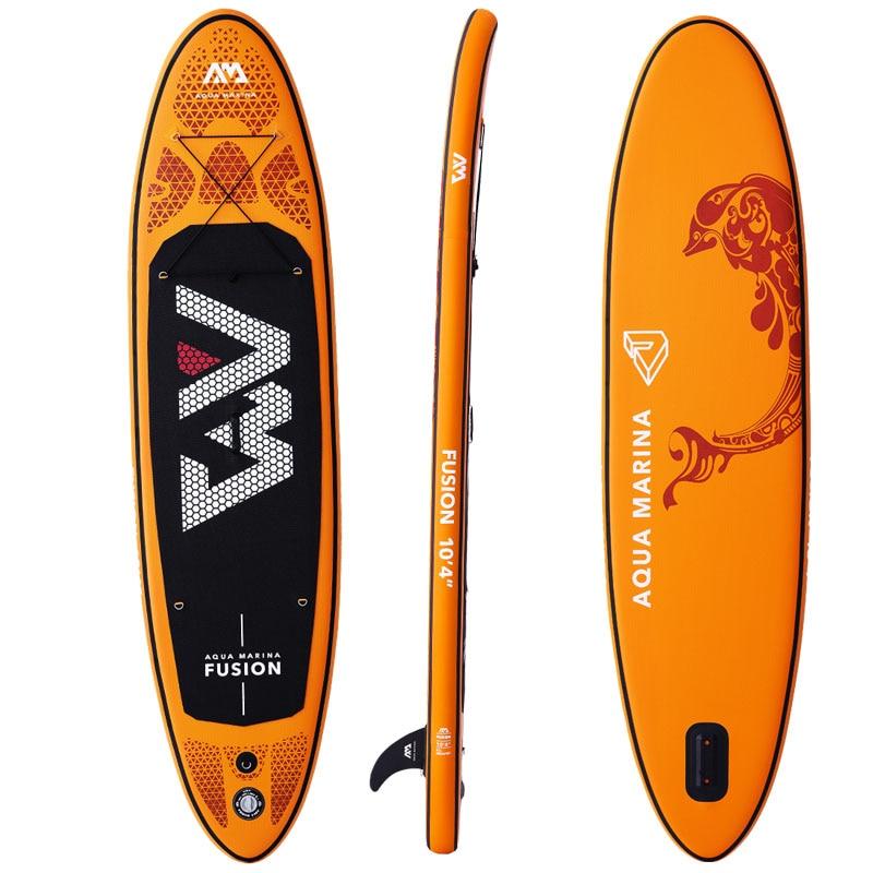 Planche de surf gonflable 315*75*15 cm FUSION 2019 stand up paddle planche de surf AQUA MARINA planche de sport nautique ISUP B01004 - 2