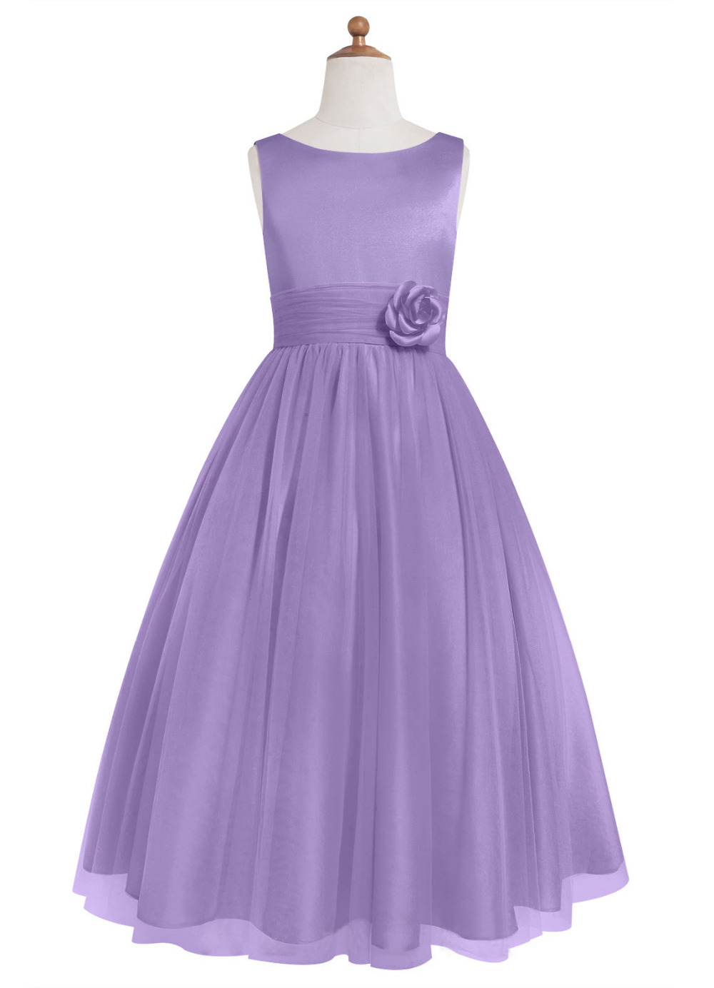 Online buy wholesale flower junior bridesmaid dresses from china 2016 real picture purple knee length flower junior bridesmaid dresses party prom gowns vestido de noiva ombrellifo Gallery