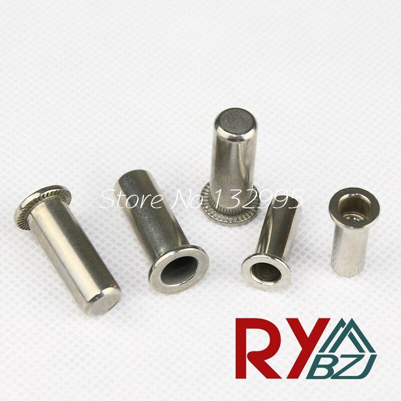 M4 M5 M6 M8 M10 Stainless Steel Rivet Nut/ Sealed Insert nut/Blind rivet nut/Enclosed rivet nut SSFH005 stainless steel spring nutcracker creative nut sheller