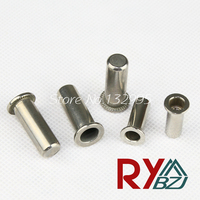M4 M5 M6 M8 M10 Stainless Steel Rivet Nut/ Sealed Insert nut/Blind rivet nut/Enclosed rivet nut SSFH005