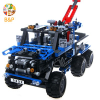 Decool 3332 678pcs Technic Series The Exploiture Crane Model Building Blocks Toys For Children Gift
