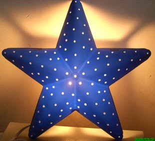 Free Shipping Five Star Children S Room Cartoon Lamps Night Light Lamp Whole And Retail On Aliexpress Alibaba Group