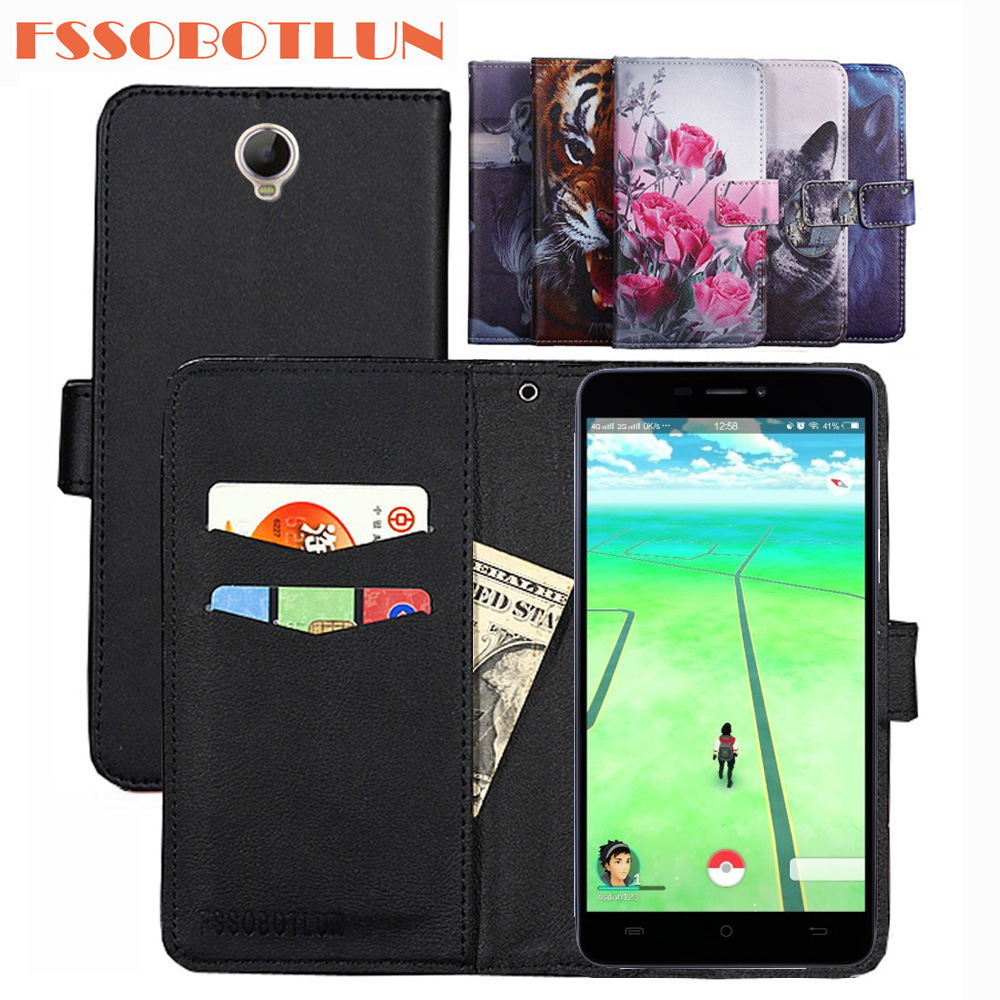 FSSOBOTLUN For Cubot Max 6.0 Case PU Leather Retro Flip Cover Shell Magnetic Fashion Wallet Phone Case Kickstand Strap Cover