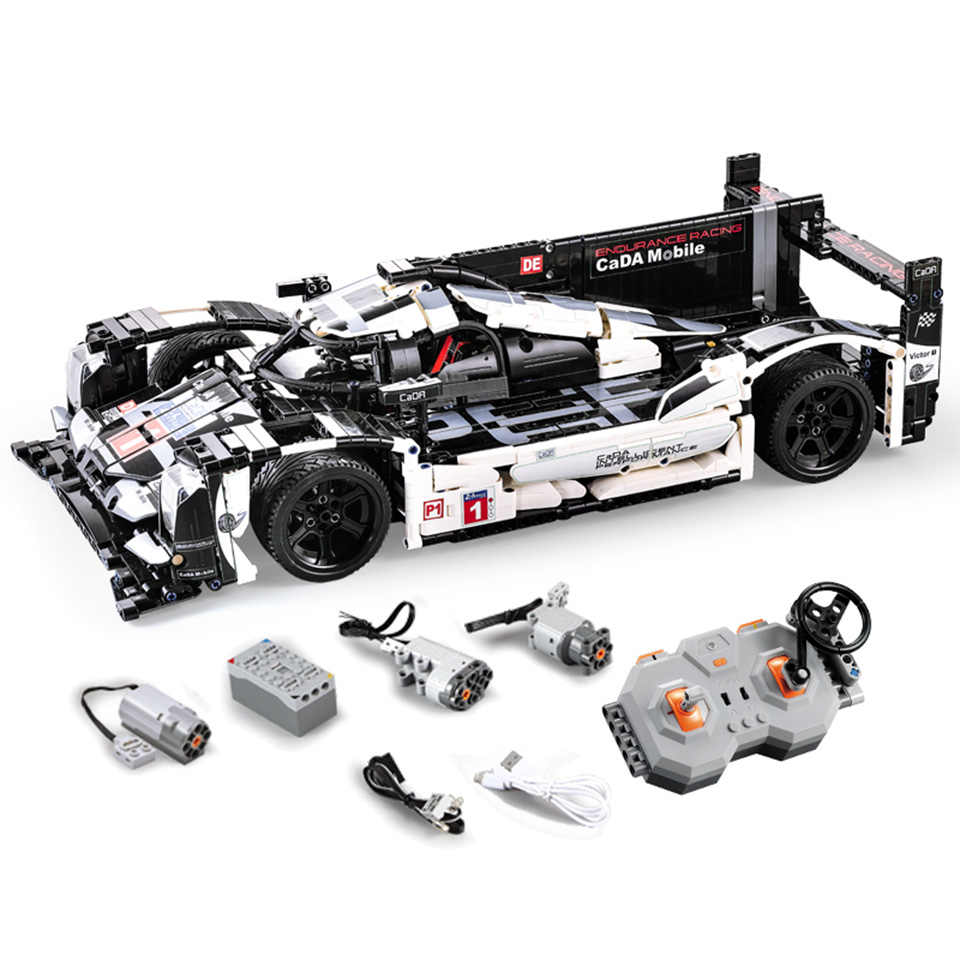 Racing Car Bricks Compatible With Legoing Technic Model Building Blocks Boys Birthday Gifts Remote Control Car Toys For Children