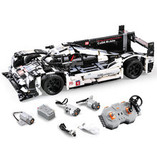 Racing Car Bricks Compatible With Legoing Technic Model Building Blocks Boys Birthday Gifts Remote Control Car Toys For Children(China)
