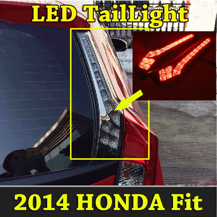 Fit taillight,2014~2016,Free ship!LED,cr-z,crosstour,Fit rear light,Fit fog light;Fit Jazz