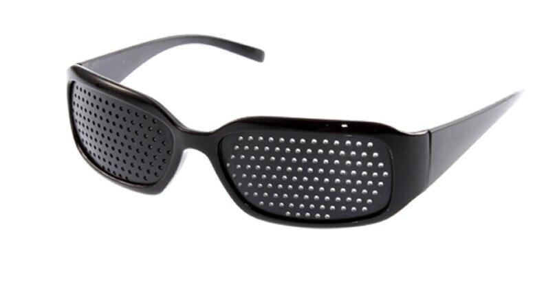 Fashion Eye care plastic pinhole eyeglasses relieve visual fatigue glasses mitigation asthenopia improve vision care eyewear human elephant conflict mitigation initiatives