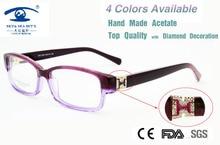 High Quality Oculos Of Grau Fashion Women Eyewear Italy Design Computer Diamond Luxury Glasses Frame Brand New 2015
