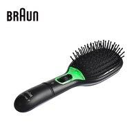 Braun anion électrique peignes redresseur de cheveux démêlant brosse à cheveux lisse cheveux fers à défriser instantanée naturel cheveux styles
