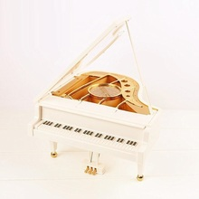 BSDT Dance creative birthday female crystal piano music DIY boutique gift box Sky City FREE SHIPPING