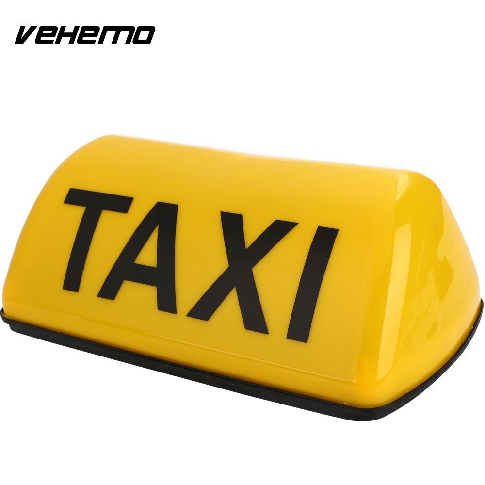 Vehemo 10 w 12 v Ad alta Luminosità Magnetica Lampada Cabina Cabina Auto Tetto Segno di Taxi Top Taxi Taxi Lampada tetto