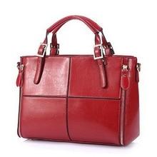 Luxury Handbags Women Bags Designer Split Leather Bags Women Handbag Brand Top-handle Bags Female Shoulder Bags