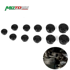 Motorcycle Frame Hole Cover Caps Plug Decor Set Motorbike Accessories For For Bmw R NINE T R Ninet R9t 2014 2015 2016 2017 2018