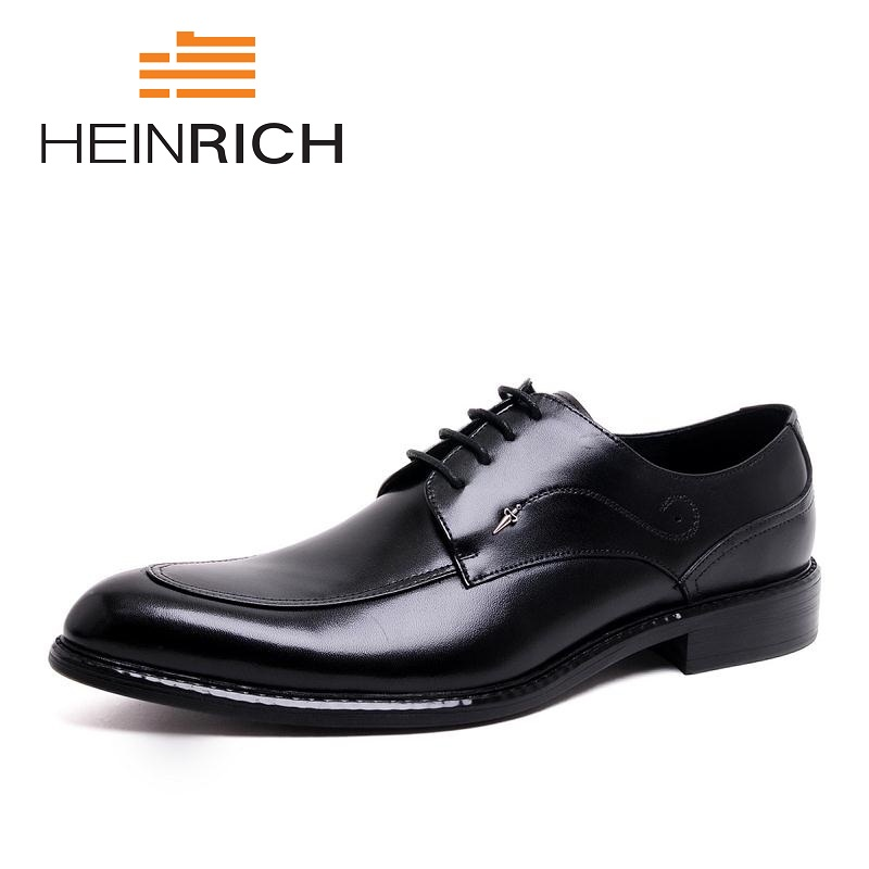 HEINRICH 2018 Italian Dress Shoes Men Genuine Leather Black Red Business Shoes Wedding Man Flat With Buckle Shoes AyakkabiHEINRICH 2018 Italian Dress Shoes Men Genuine Leather Black Red Business Shoes Wedding Man Flat With Buckle Shoes Ayakkabi