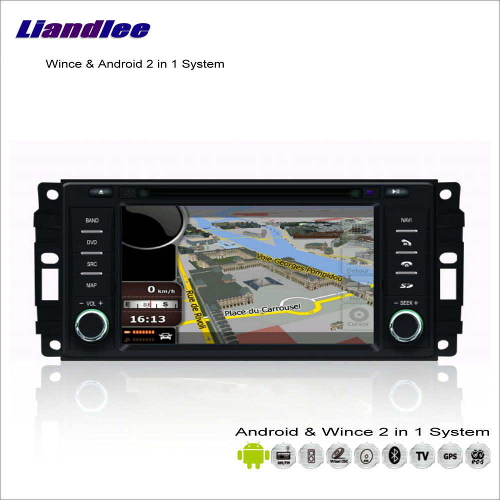 Liandlee Car Android Multimedia Stereo For Chrysler Voyager / 200 2008~2013 Radio CD DVD Player GPS Navi Navigation Audio Video stels voyager 2013