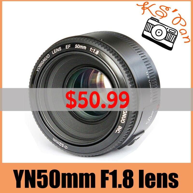 Yongnuo-YN50mm-F1-8-lens