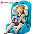 GLOBALKIDS 3-en-1 Mirando Hacia el frente del Asiento de Coche de Bebé Para 9 Meses-12 Años de Niños Arnés Ajustable Booster