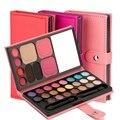 Pro pigmento mate sombra de ojos set 33 colores paleta de sombra de ojos maquillaje nude 3 tipos