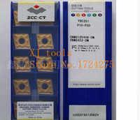 Envío Gratis DM YBC251 (10 unids/lote herramientas de corte de carburo cementado inserto de torneado CNMG120408