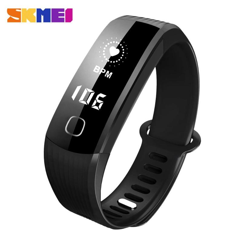 SKMEI Intelligent Bracelet Sport Montre Smart Watch Bluetooth 4.0 Étanche SmartWatch Appel Rappel/Surveillance de la Fréquence Cardiaque Fonction B21