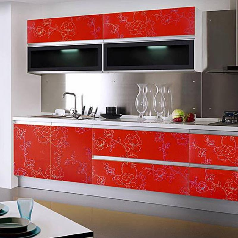 Stickers Waterproof Pvc Self Adhesive Wallpaper For Kitchen Cupboard Countertop Table Wall