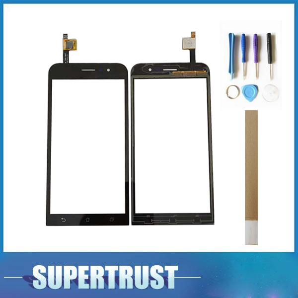 High Quality For Asus Zenfone GO ZB500KL X00AD Touch Screen Lens Glass Sensor Digitizer Black Color With tape&toolsHigh Quality For Asus Zenfone GO ZB500KL X00AD Touch Screen Lens Glass Sensor Digitizer Black Color With tape&tools