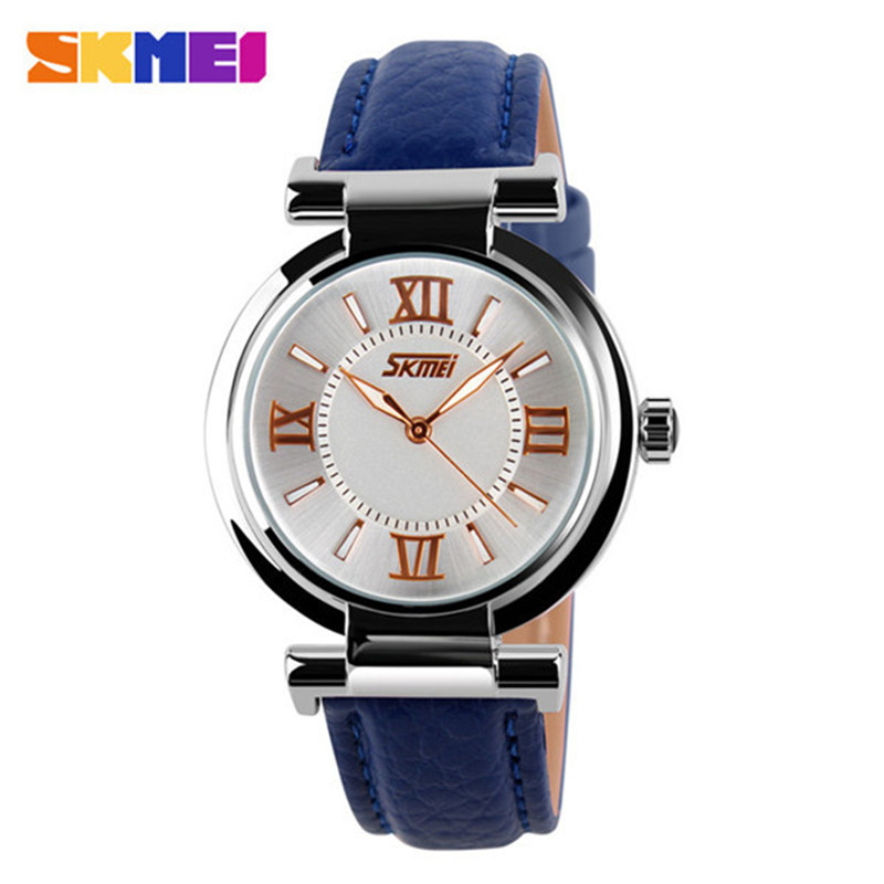 2016 New Womens Wristwatch Women Dress Watches Fashion Casual Leather Strap Watch Ladies Watches Relogio Feminino RELOJ Clock comtex ladies watch spring casual yellow leather women wristwatch for girl new fashion quartz calendar watches reloj clock gift